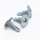 Carbon Steel Zinc Plated Cross Recessed Round Washer Head Screw